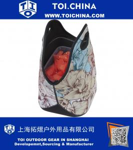 Insulated Lunch Bag For Fashionable Women And Girl- Large Thermal Tote For  Work, Picnic 2590a354ae